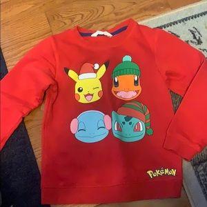 H&M Shirts & Tops - Pokémon sweatshirt
